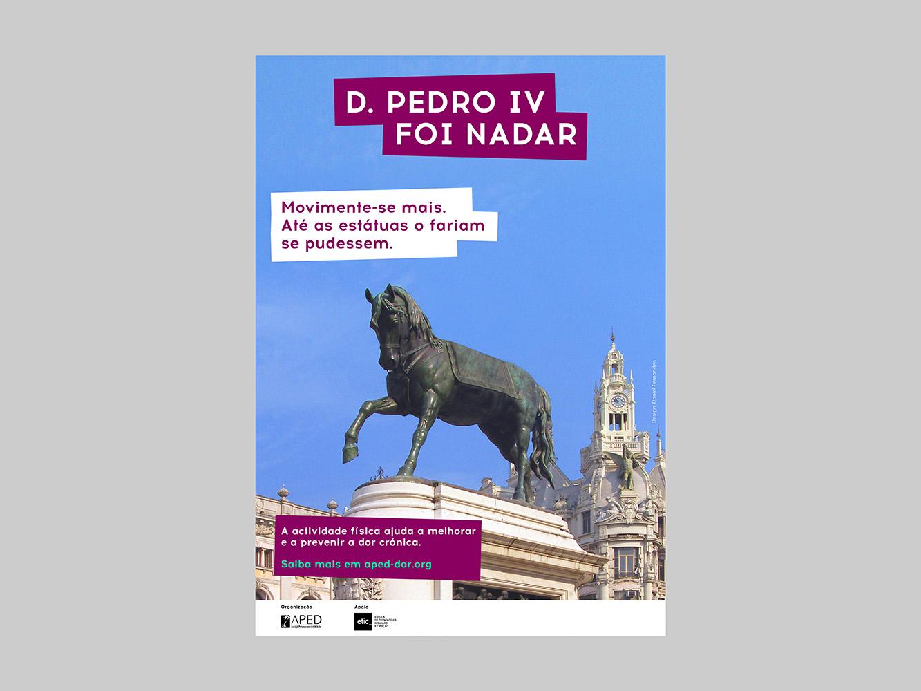 D. Pedro IV, Porto