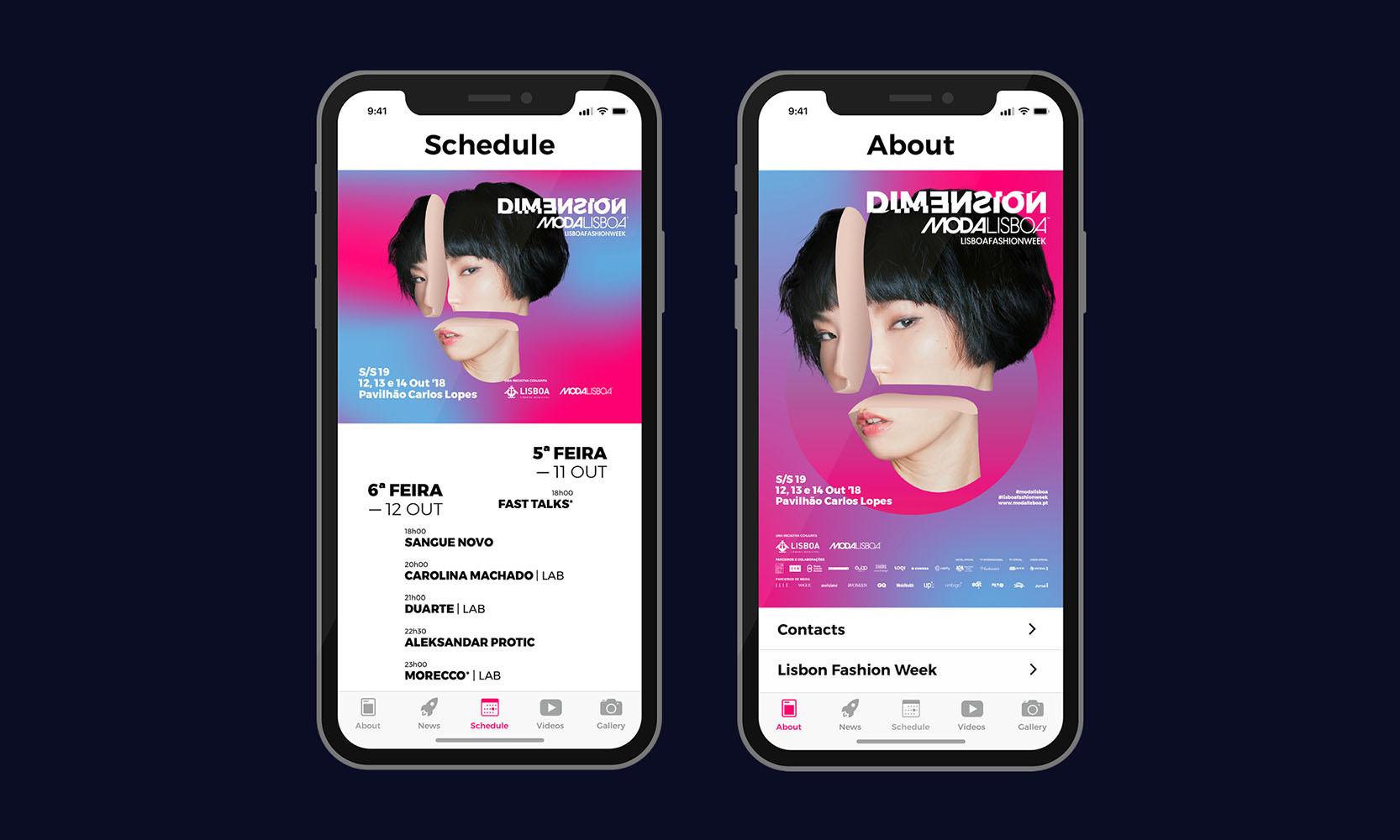 ModaLisboa app