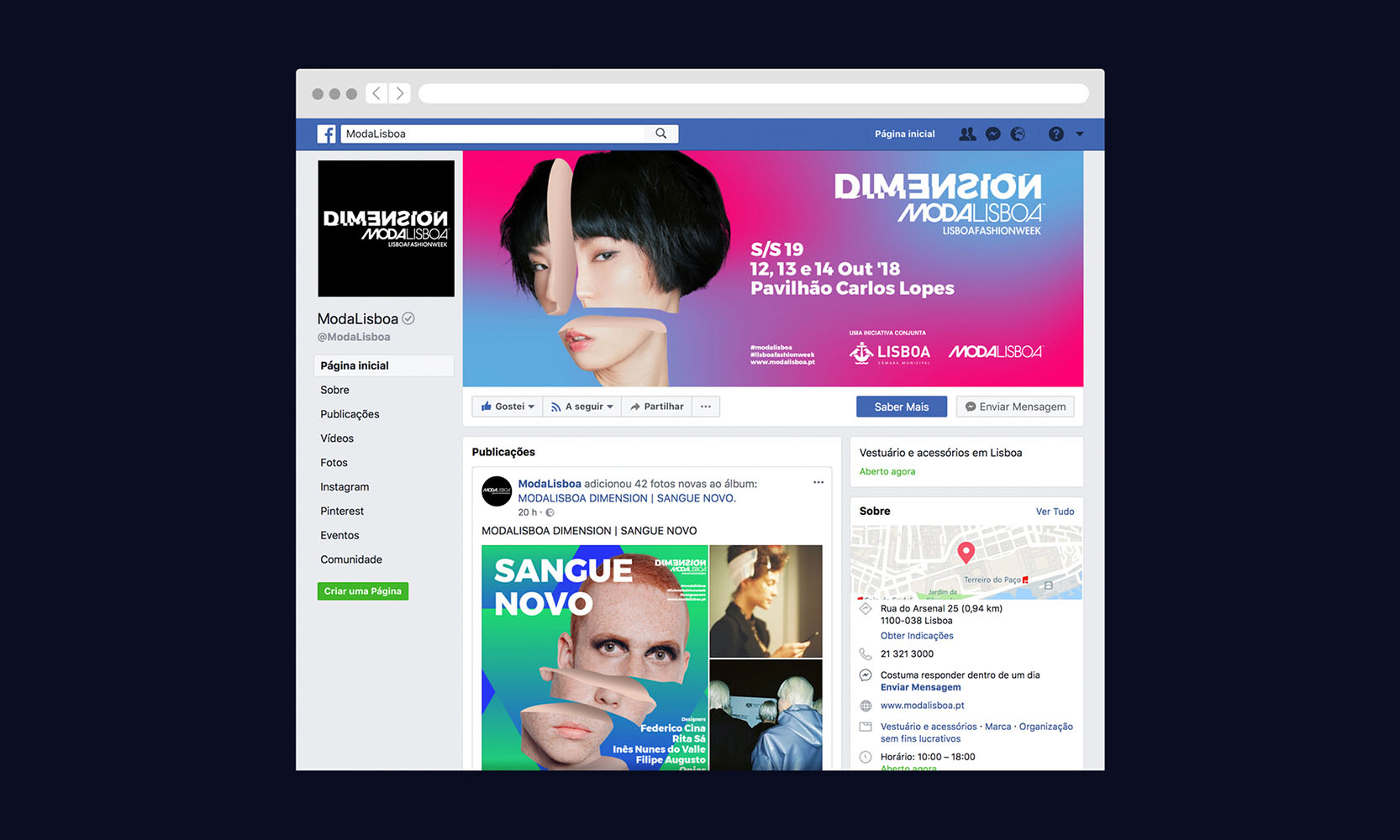 ModaLisboa facebook