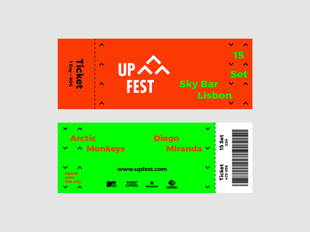 Up Fest tickets
