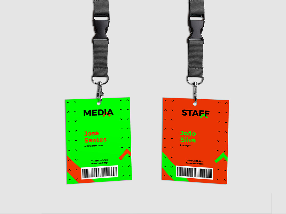 Up Fest credential