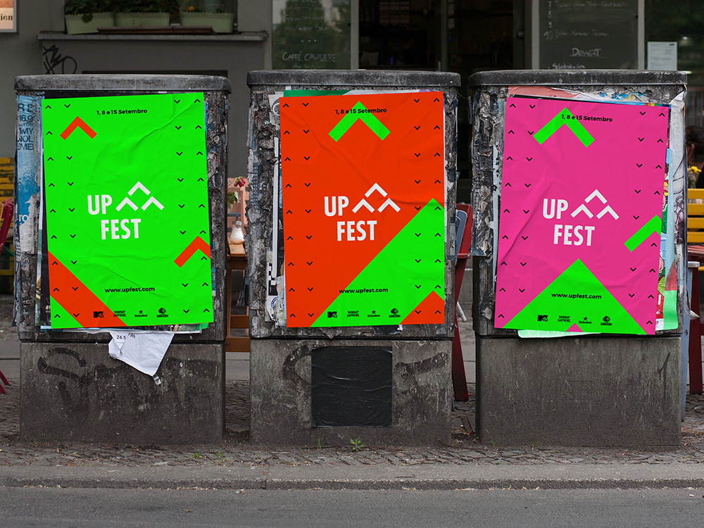 Up Fest main posters