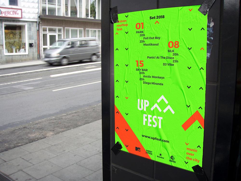 Up Fest schedule